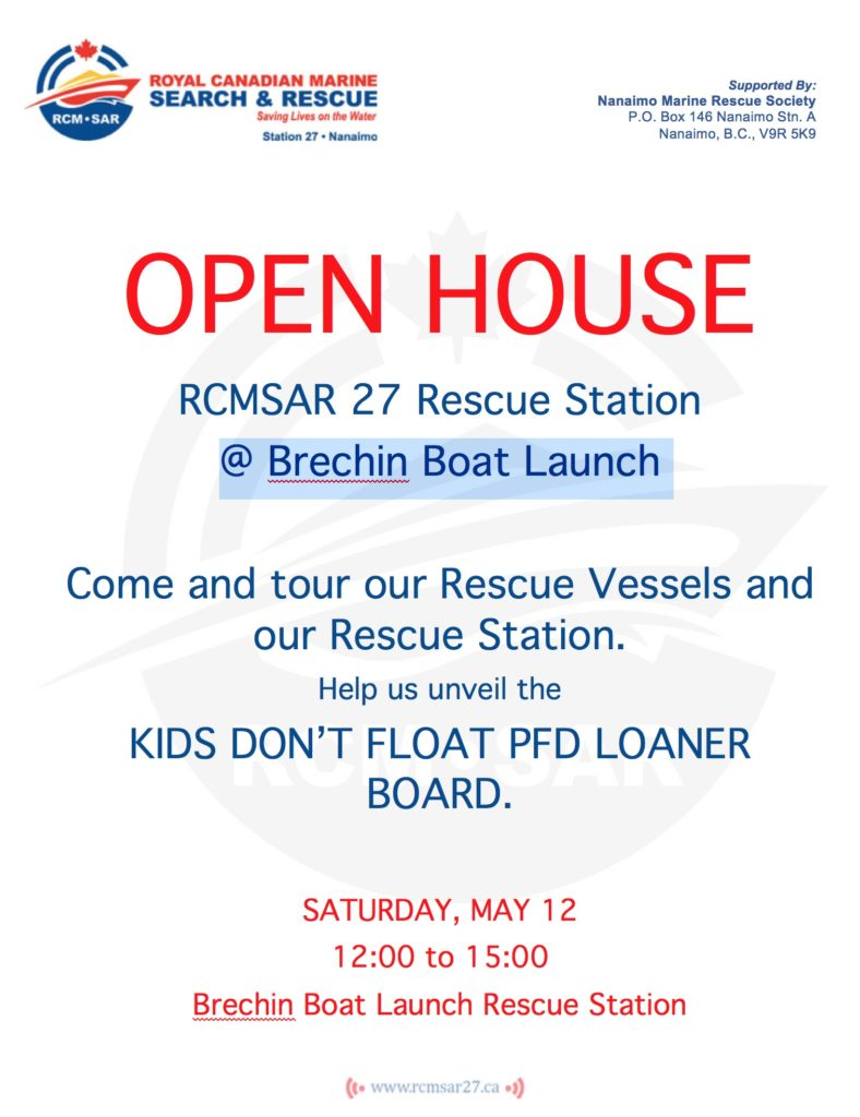 Welcome to our Open House on Saturday – RCM-SAR Station 27